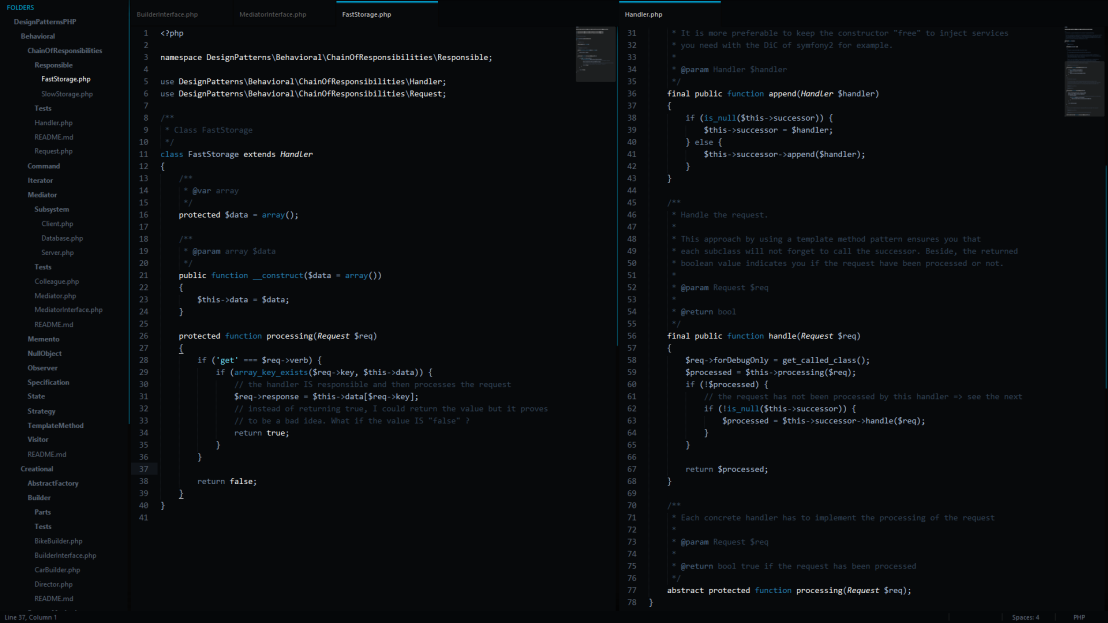 Sublime Text - Void Theme + Tron Contrast Scheme